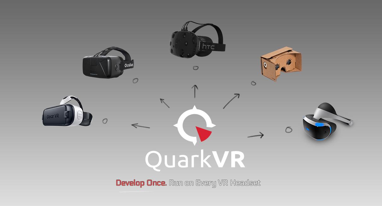 Какво е Quark VR?